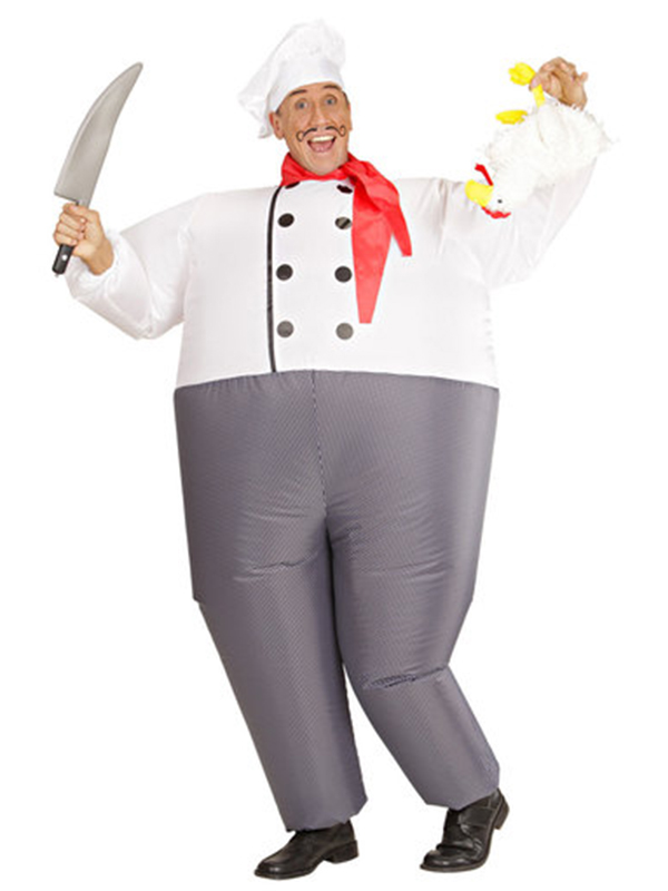 Inflatable Chef Costume  sc 1 st  Novelties Direct & Inflatable Chef Costume - Novelties (Parties) Direct Ltd