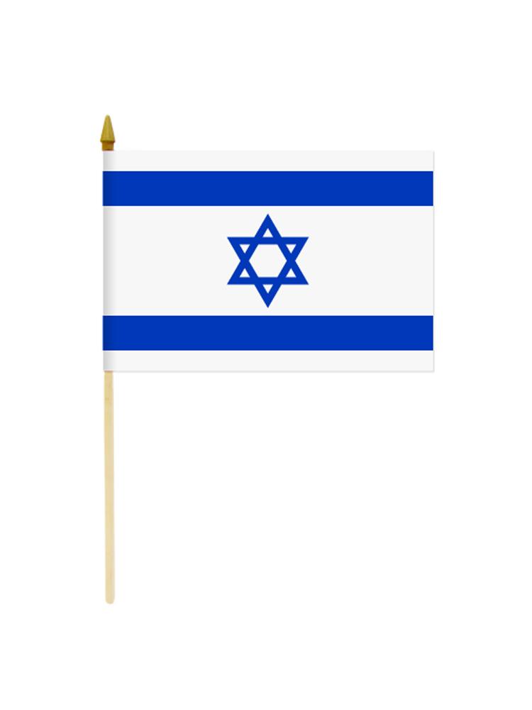 Israel Hand Held Paper Flag