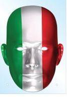 Italy Flag Mask