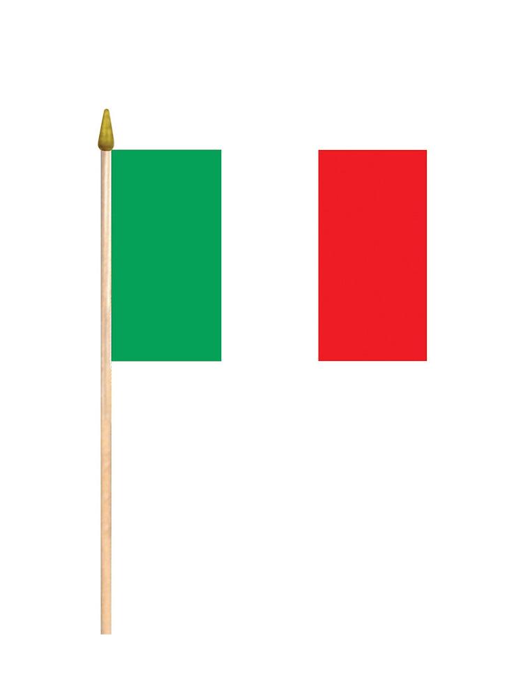 Italy Hand Held Flag