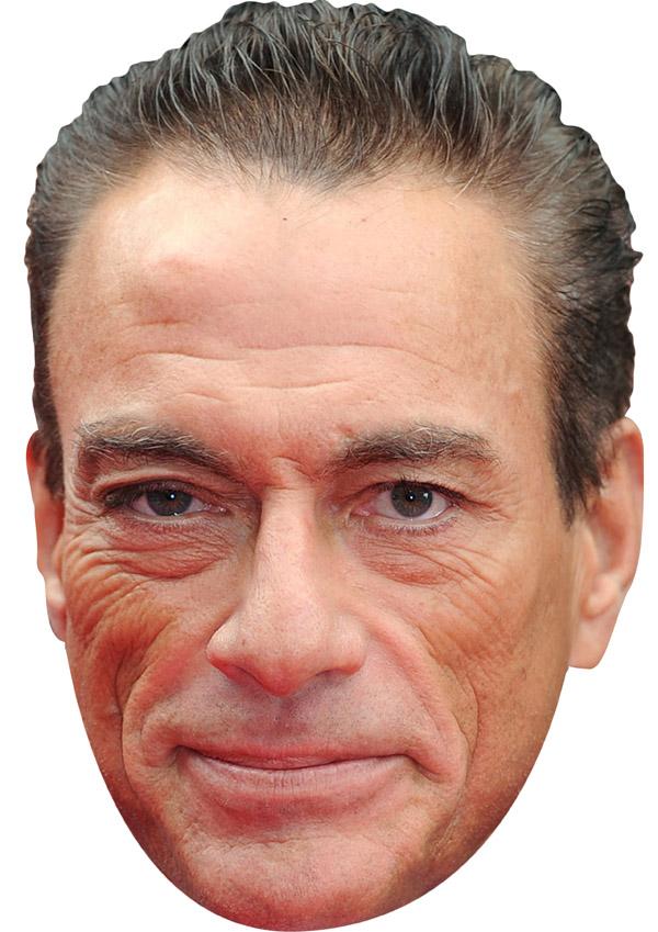 Jean Claude Van Damme Mask