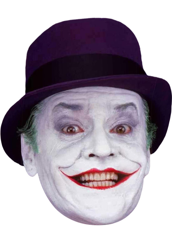 Jack Nicholson Joker Face Mask
