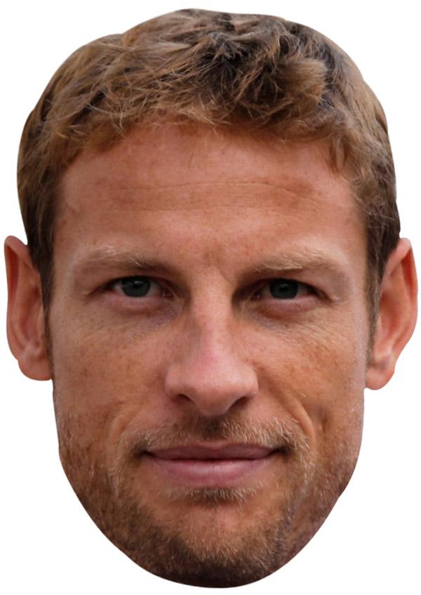 Jenson Button Mask