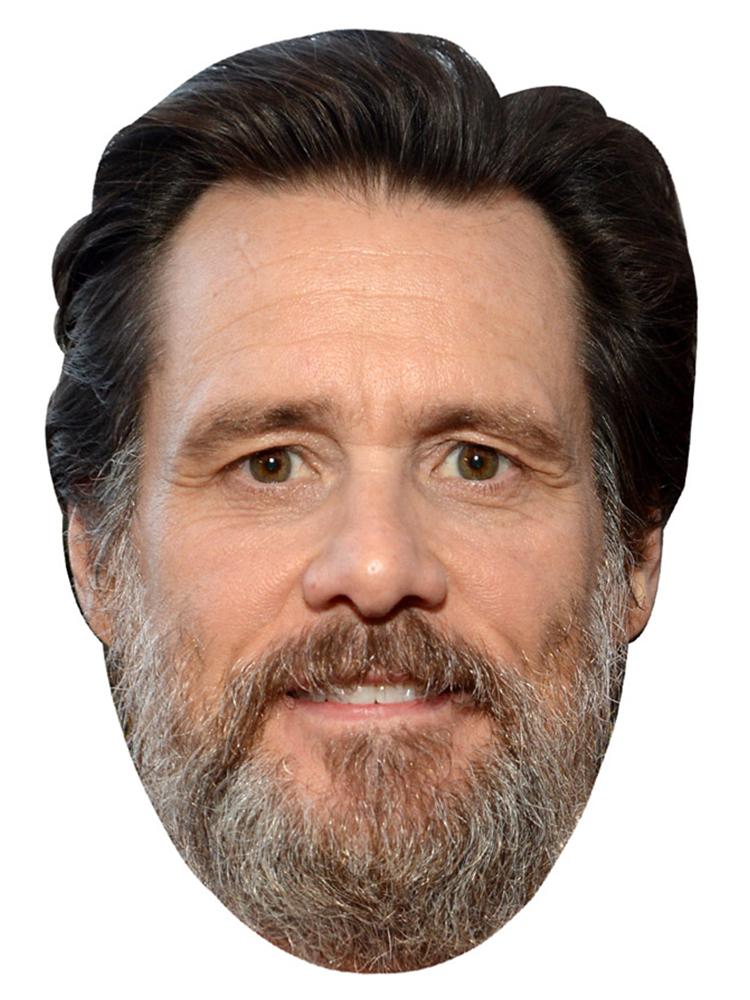 Jim Carey Beard Mask