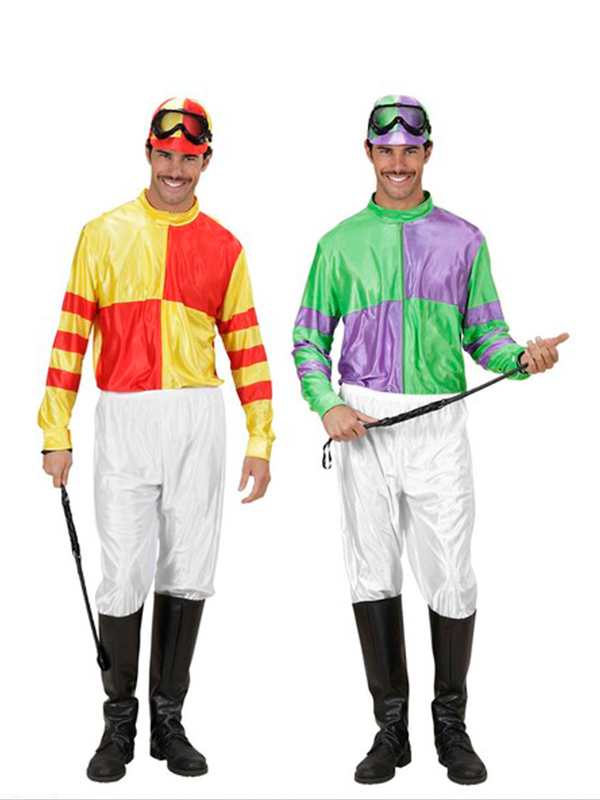 Jockey Red/Yellow Or Green/Purple