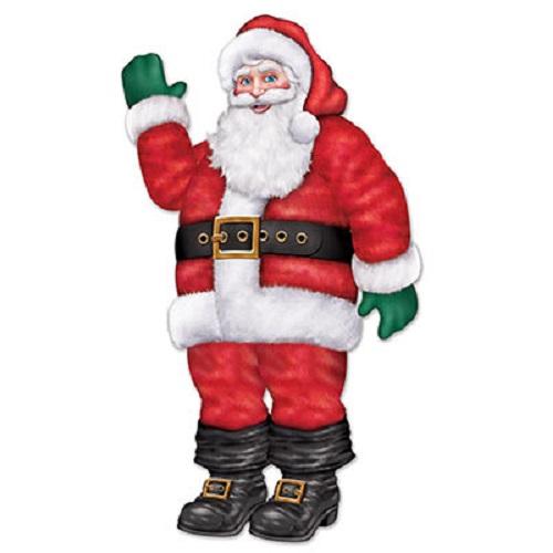 """Jointed Santa 17"""""""