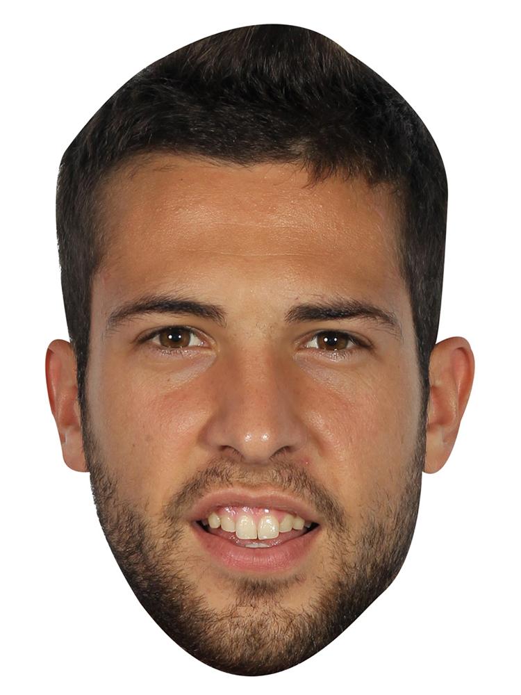 Jordi Alba Mask (Spain)