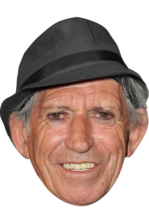 Keith Richards Mask