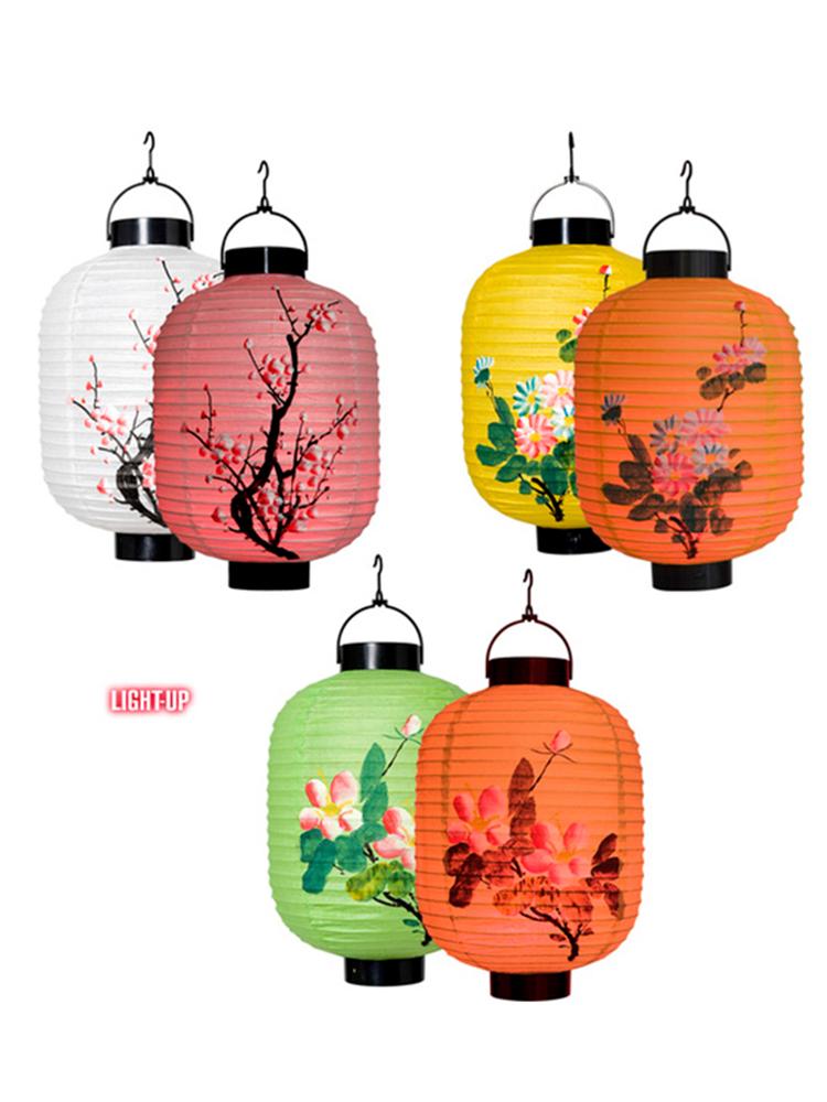Led Light Oriental Lanterns