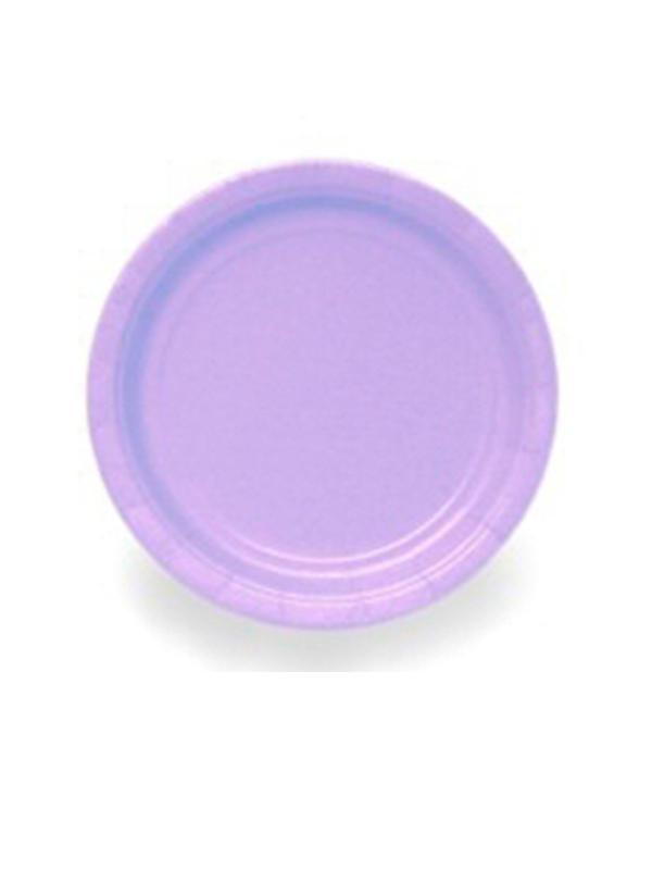 """Lavender 9""""  Paper Plates  (PK 8)"""