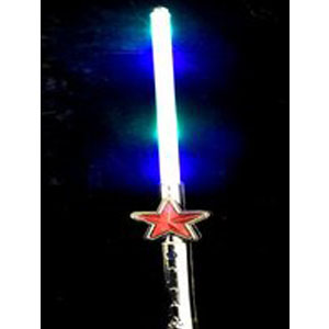 Light up flashing Star Sword