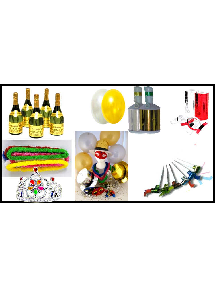 Luxurious Party Pack For 100 People (Qty per unit: 1)