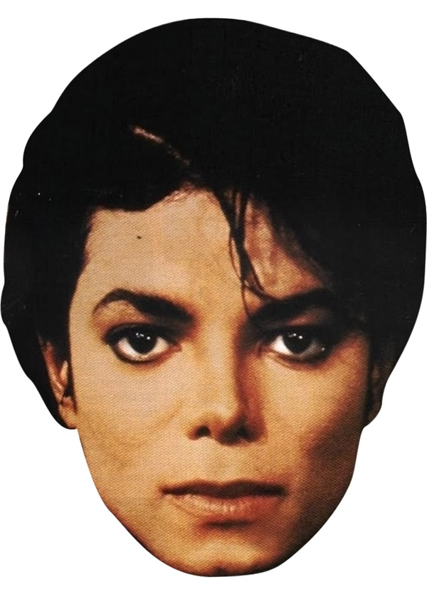 Michael Jackson Mask (Bad)