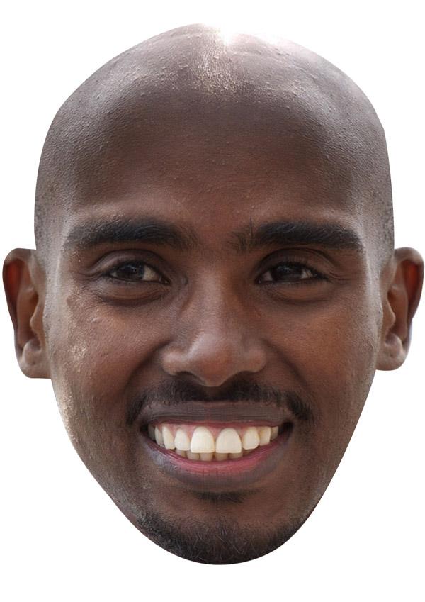 Mo Farah Mask
