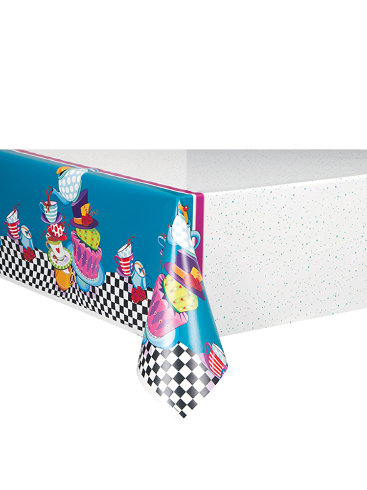 Mad Hatter Tea Party Table cover