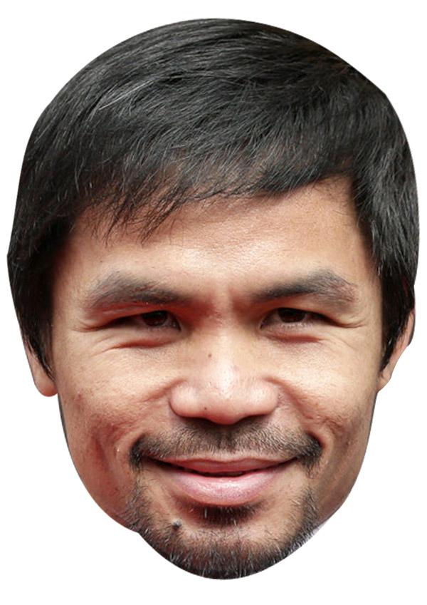 Manny Pacquiao Mask