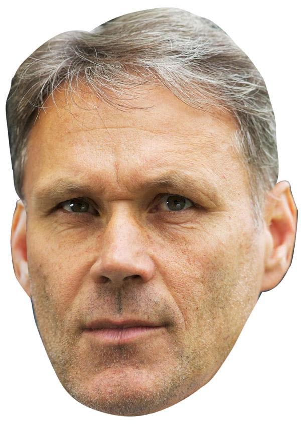 Marco Van Basten Mask