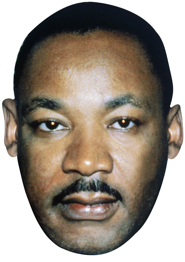 Martin Luther King Mask