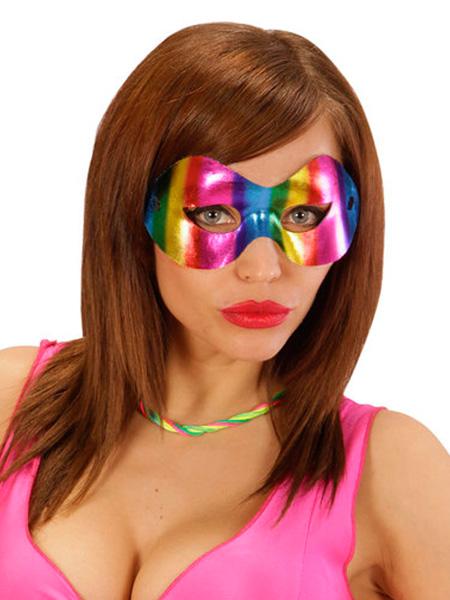 Metallic Rainbow Parade Eye Mask
