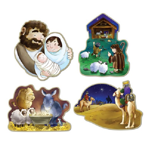 """Nativity Cutouts 16"""""""