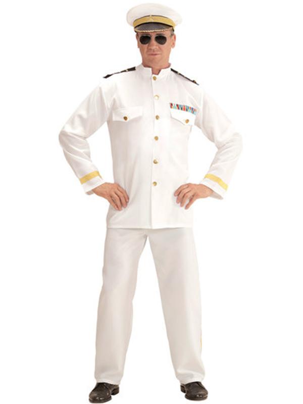 Navy Captain (Jacket Pants Hat)