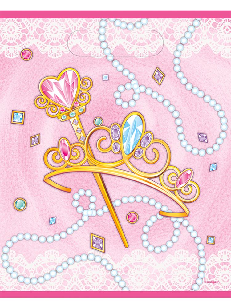 New Pink Princess Loot bag
