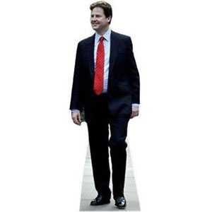 Nick Clegg (Liberal Democrats) Cardboard Cutout