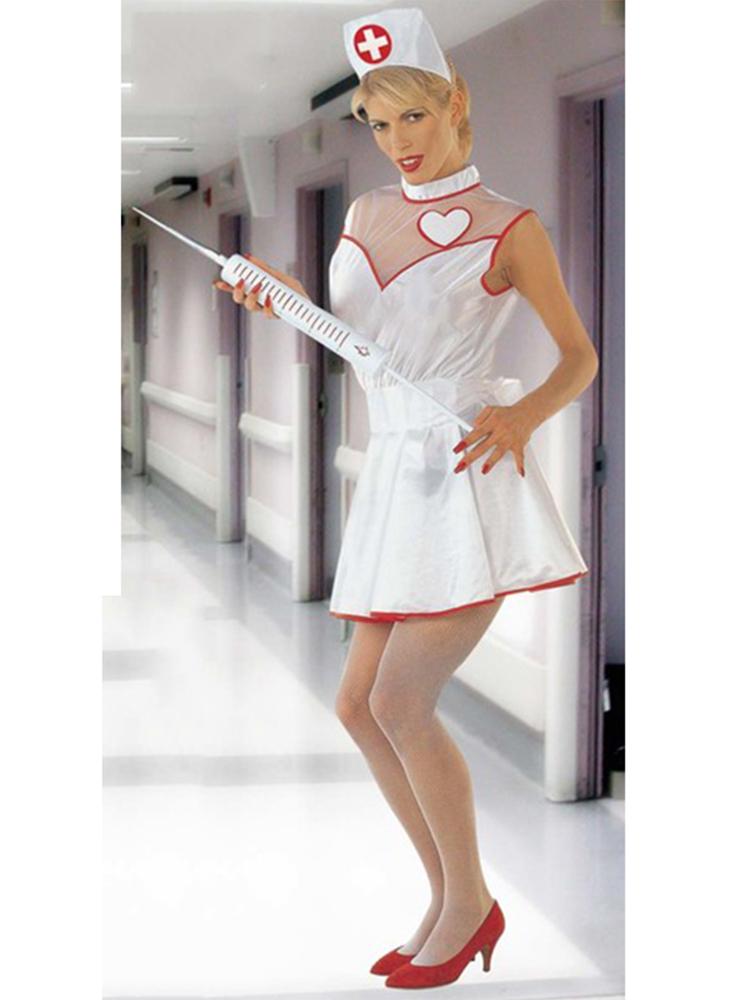 Nurse Costume (Dress Belt Headpiece)