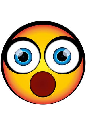 OMG Big Eyes Emoji Mask