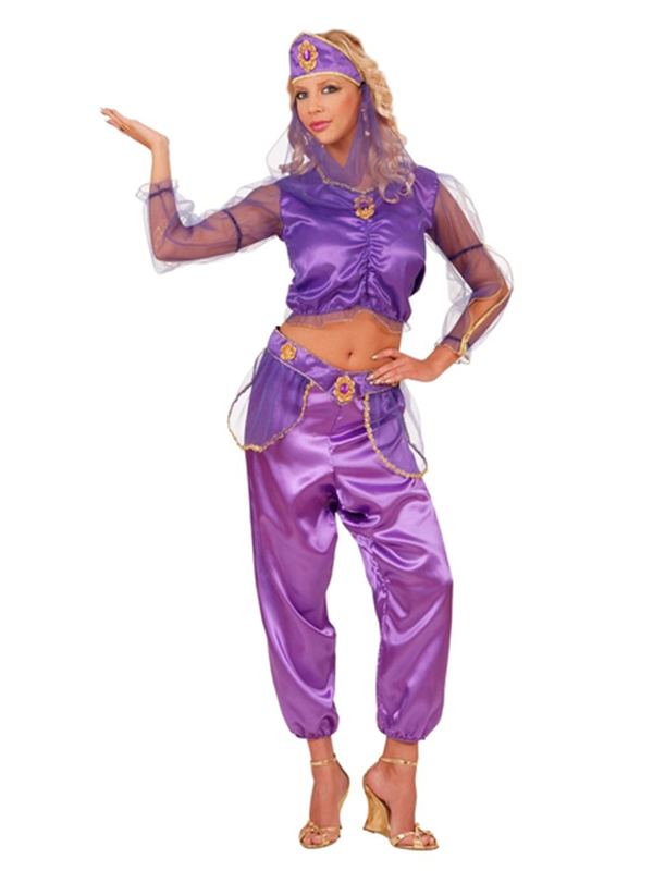 Odalisque Purple Costume