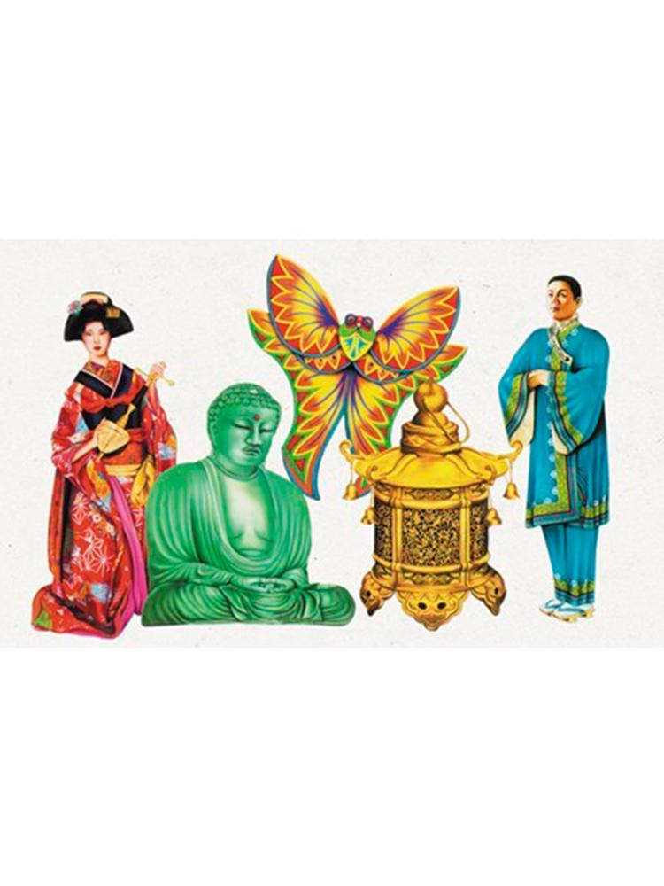 Oriental Cutouts (5 in a pack)