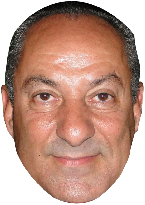 Ossie Ardiles Mask