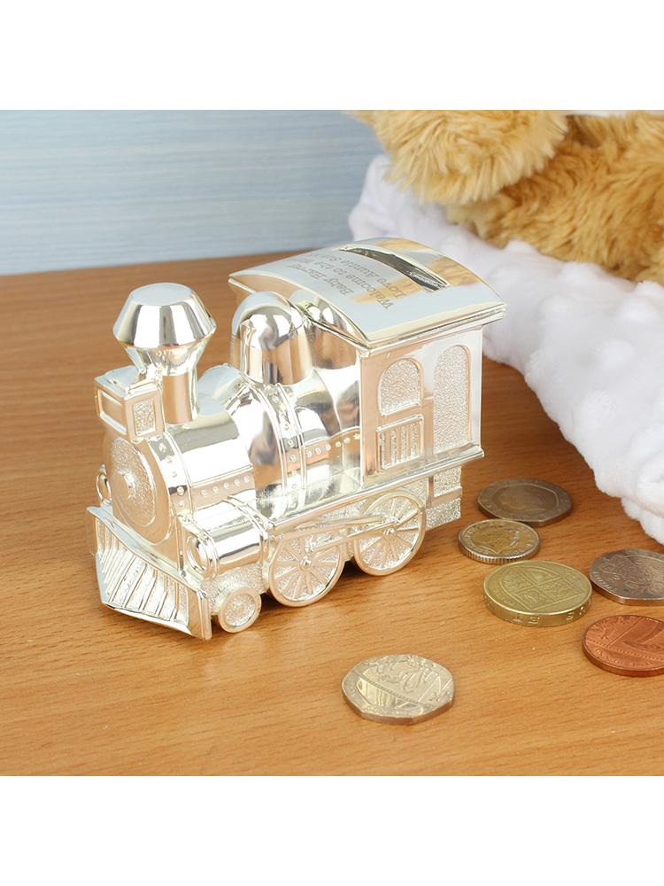 Personalised Train Money Box