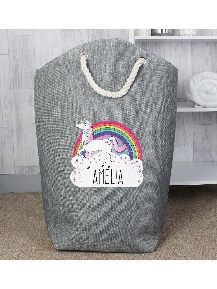 Personalised Unicorn Storage Bag