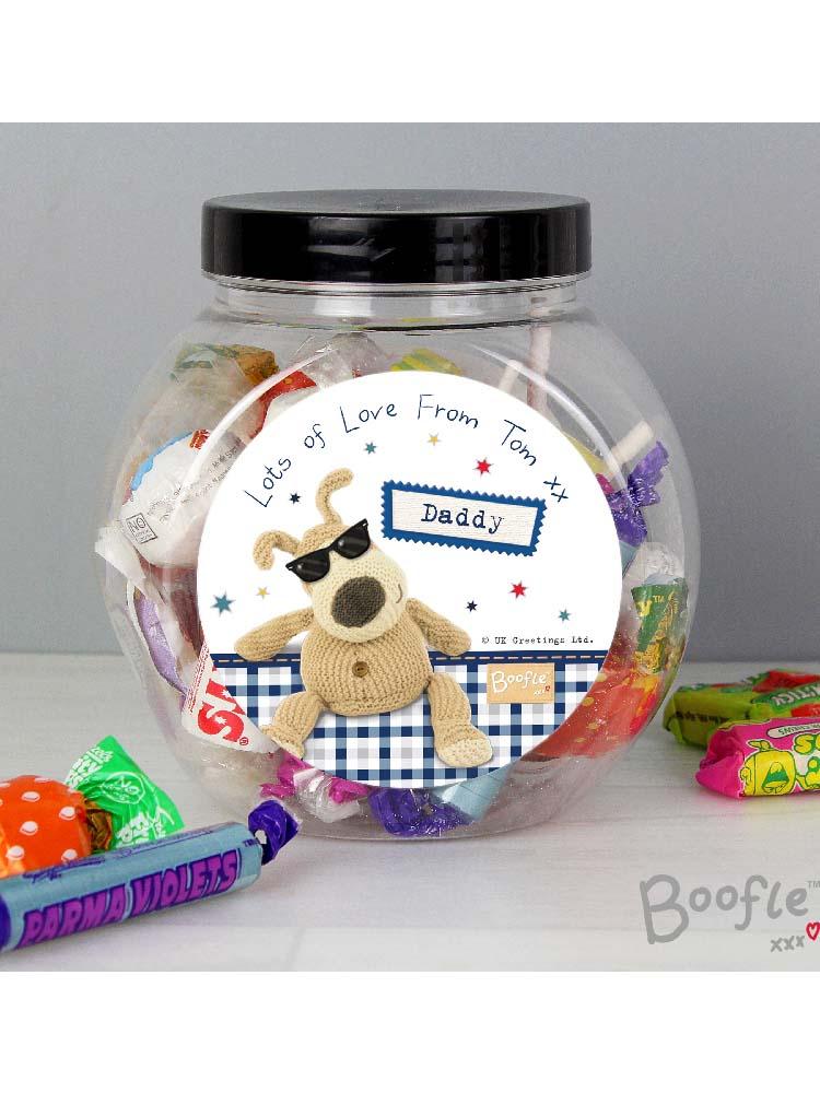 Personalised Boofle Stars Sweet Jar