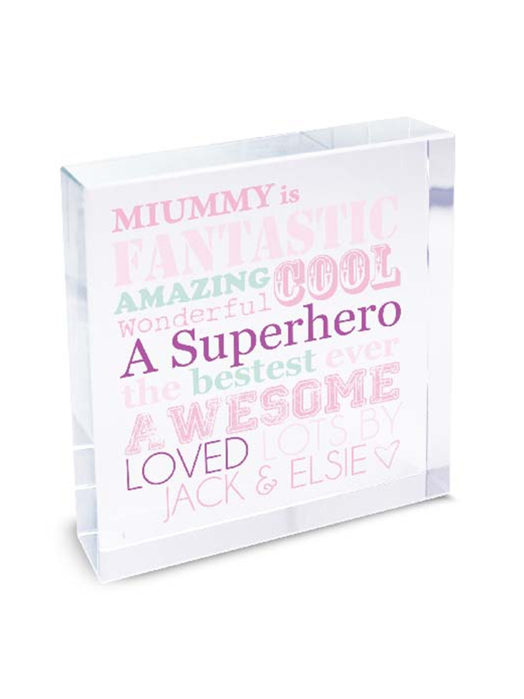 Personalised She Is...Large Crystal Token