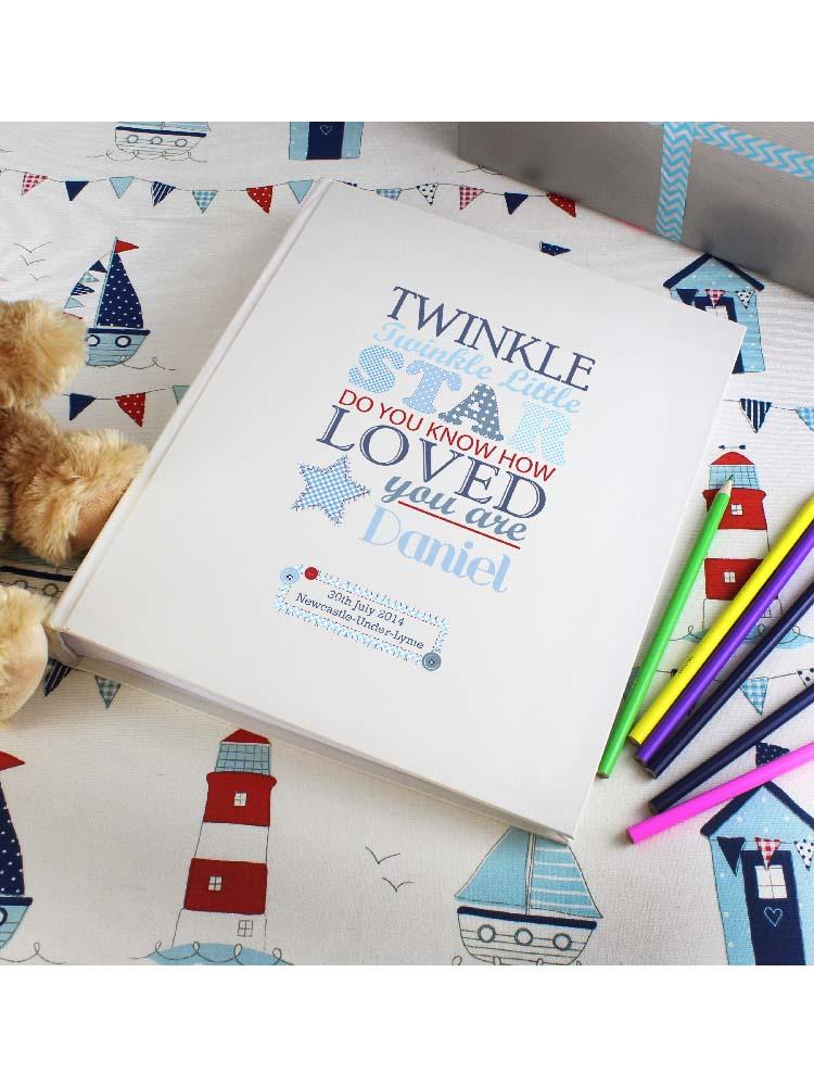 Personalised Twinkle Boys Traditional Album