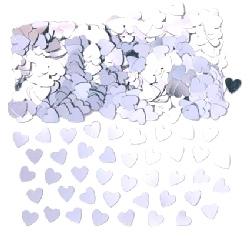 Confetti Silver Hearts - Buy 1 get 1 free