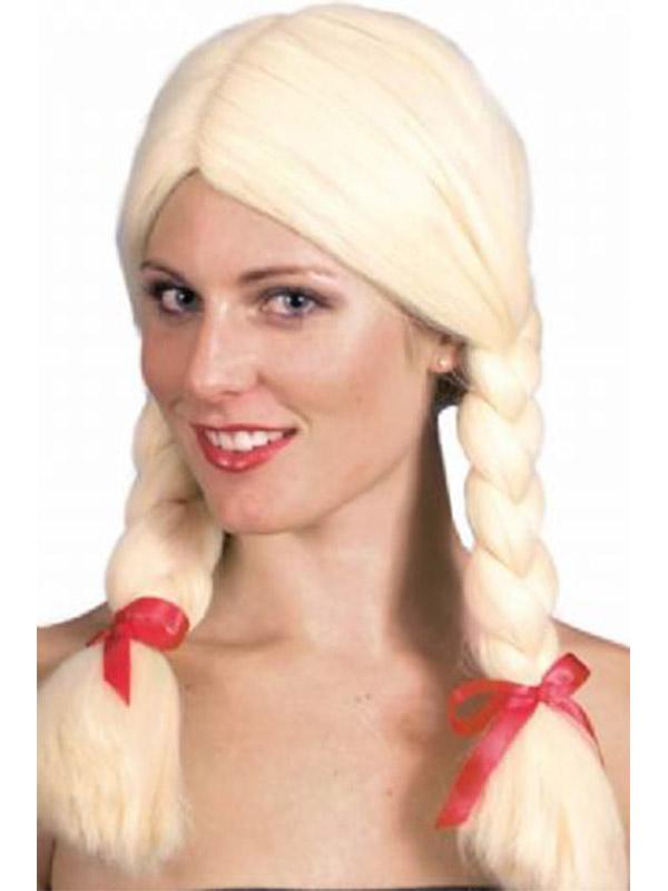 Schoolgirl Wig Blonde (1)