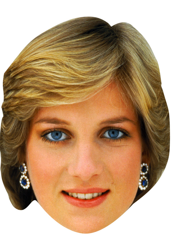 Princess Diana Mask (Young)
