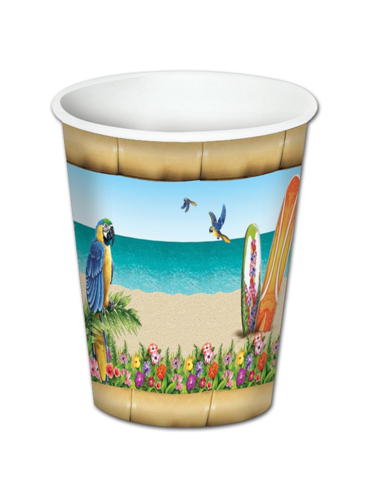 Paradise Beverage Cups (8/Pkg)