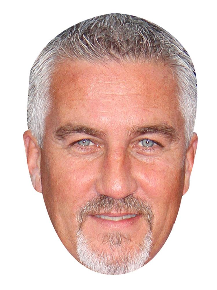Paul Hollywood Mask
