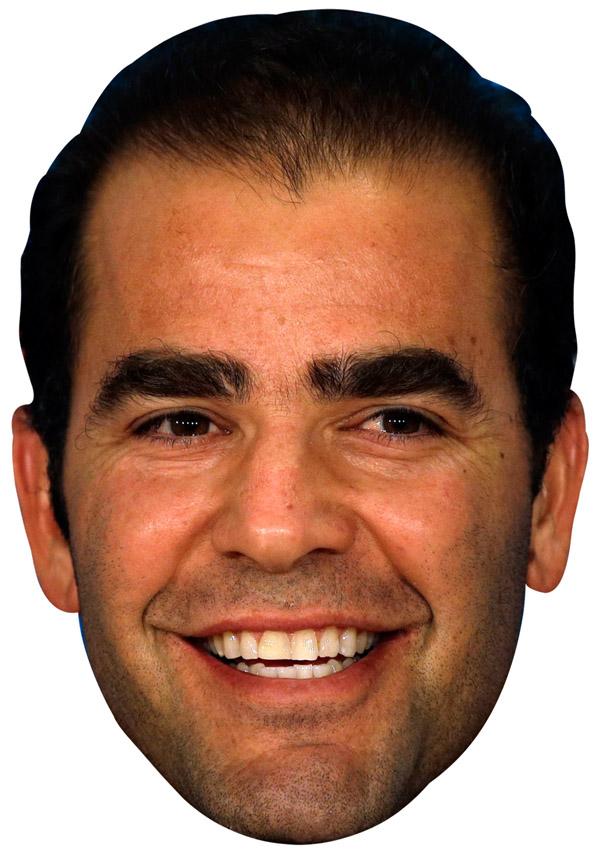 Pete Sampras Mask