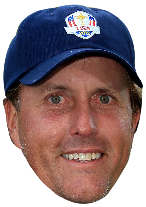 Phil Mickelson Mask