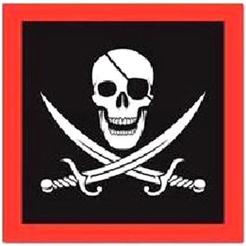 Pirate Napkins