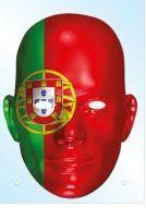 Portugal Flag Mask