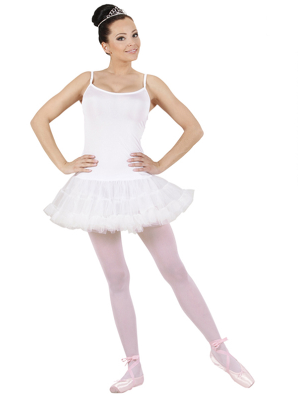 Prima Ballerina - White Ladies (Tutu Dress)