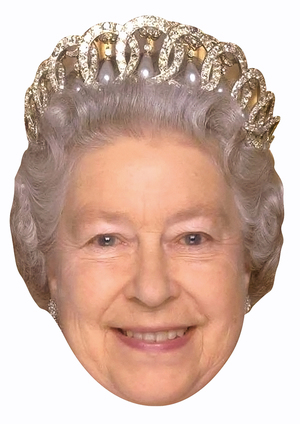 Queen Elizabeth II Mask (New)
