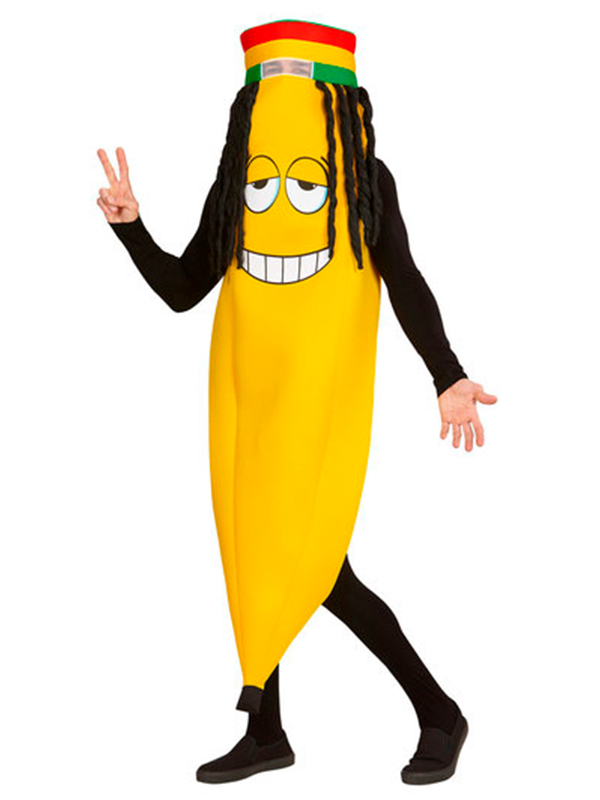 Rastafarian Banana Costume