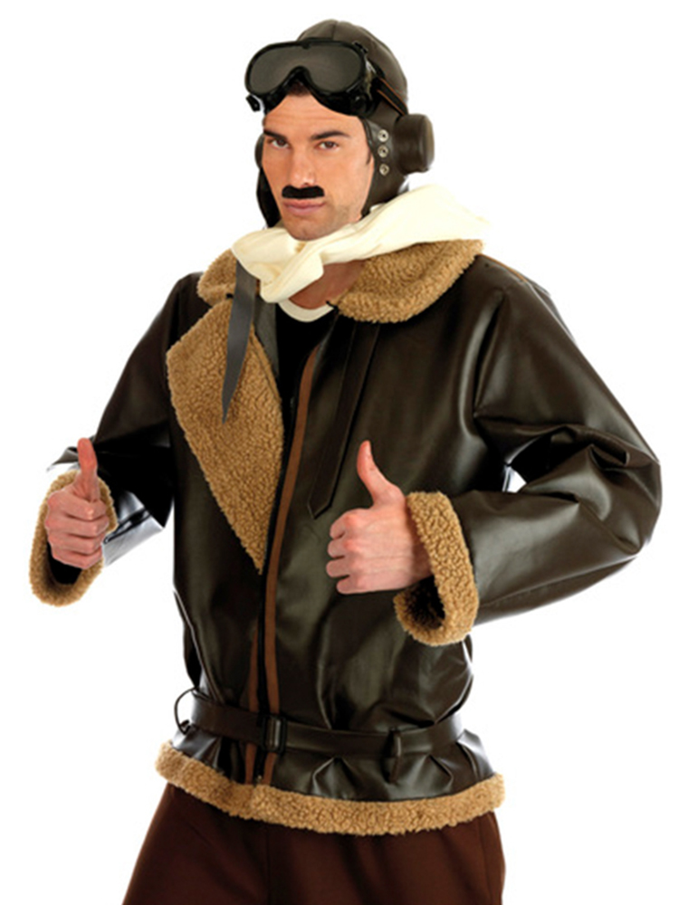 Retro Aviator Men Costume